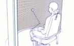 Fauteuil rotatoire à basse vitesse (reeducation vestibulaire)